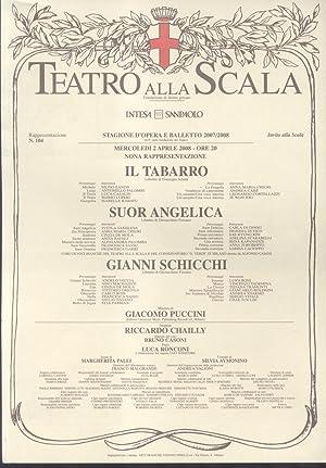 """Locandina originale del """"Teatro alla Scala"""" di"""