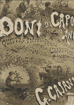 DANZA DEI BURATTINI. Piccola Polka per Pianoforte, Op.21 (Pl.n°3388).: CAJANI Giuseppe (Milano,...