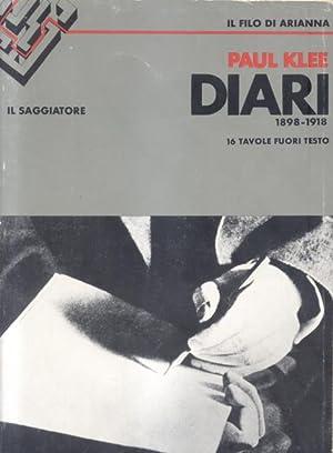 DIARI DI PAUL KLEE, 1898-1918.: KLEE Paul.
