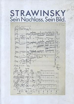 STRAWINSKY. Sein Nachlass. Sein Bild, Catalogo della Mostra. 6 giugno - 9 settembre 1984.