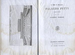 L'IMPERIALE E REALE PALAZZO PITTI DESCRITTO.: INGHIRAMI Francesco.