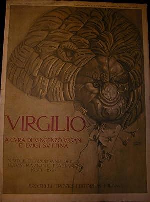 """VIRGILIO. Numero di Natale e Capodanno de """"L'Illustrazione Italiana"""", 1930-1931. ..."""