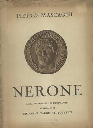 NERONE (1935). Tre atti (quattro quadri) di G.Targioni Tozzetti, dalla commedia di Pietro Cossa. ...