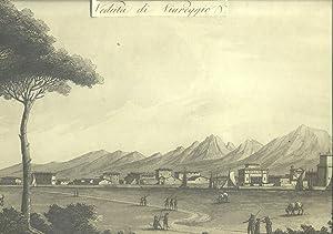 VEDUTA DI VIAREGGIO. Litografia di Giuseppe Pera su disegno di Antonio Terreni tratta dalla prima ...