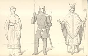ABITI E FOGGE CIVILI E MILITARI DAL I AL XVIII SECOLO. Raccolta di disegni del Cav.Federigo ...