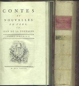 CONTES ET NOUVELLES EN VERS.: La FONTAINE Jean De.