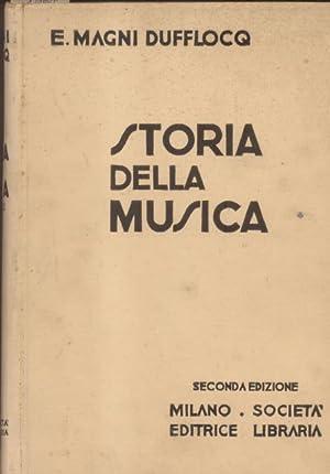 STORIA DELLA MUSICA.: MAGNI DUFFLOCQ Enrico.