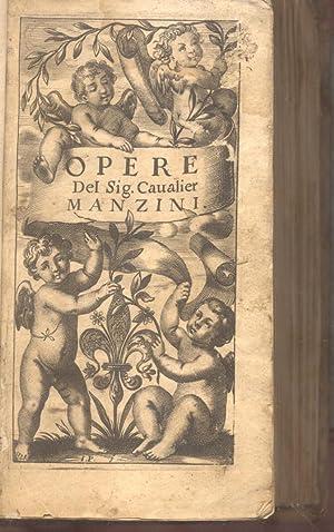 """OPERE. Cioé """"Il servir negato al Savio"""", Vita di S. Eustachio martire"""", &quot..."""
