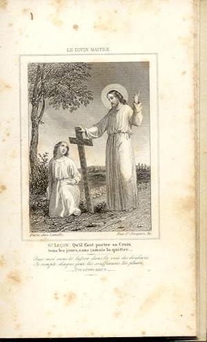 LE DIVIN MAITRE DANS LA SCIENCE DE LA CROIX. 1850 circa.
