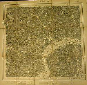 CANNOBIO. Carta topografica in fotozincografia, foglio n°16, a cura dell'Istituto ...