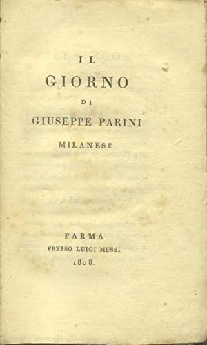 IL GIORNO.: PARINI Giuseppe.