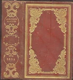 ALMANACCO TOSCANO PER L'ANNO 1854. (1854).