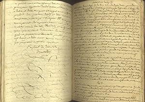 Raccolta rilegata di appunti a soggetto filosofico e religioso. Manoscritto scolastico originale di...