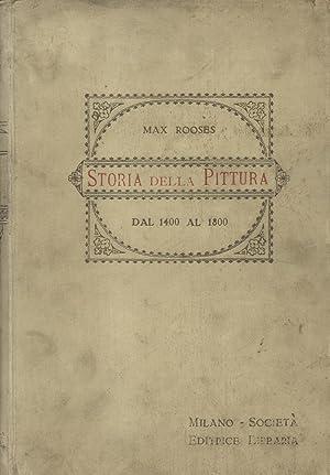 STORIA DELLA PITTURA DAL 1400 AL 1800.: ROOSES Max.