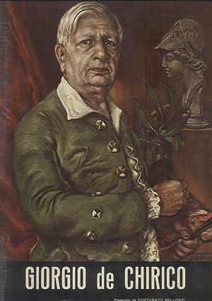 GIORGIO DE CHIRICO.: BELLONZI Fortunato (a cura di).