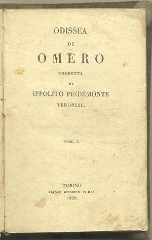 ODISSEA. Tradotta da Ippolito Pindemonte veronese.: OMERO.
