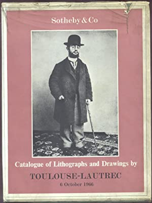 CATALOGUE OF A COLLECTION OF FINE LITHOGRAPHS AND DRAWINGS BY HENRI DE TOULOUSE LAUTREC. The ...