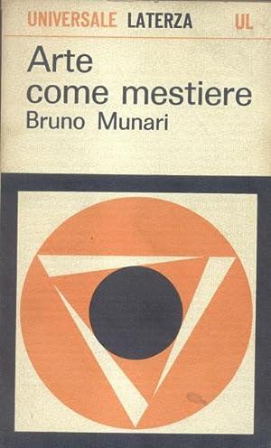 ARTE COME MESTIERE.: MUNARI Bruno (Milano, 1907-1998).