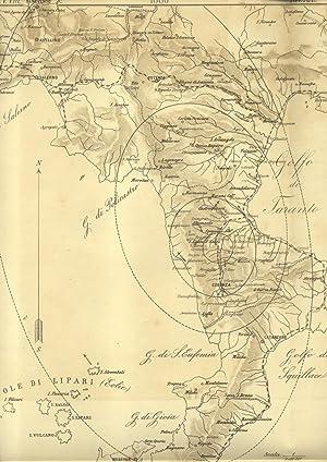 IL TERREMOTO NEL VALLO COSENTINO DEL 3 DICEMBRE 1887. Studio.: AGAMENNONE Giovanni.