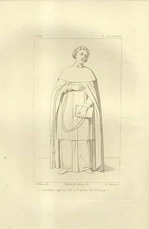 ICONOGRAFIA STORICA DEGLI ORDINI RELIGIOSI E CAVALLERESCHI. Solo volumi VII, VIII e IX. 1844-1847.:...