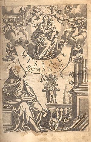 MISSALE ROMANUM EX DECRETO SACROSANCTI CONCILIJ TRIDENTINI
