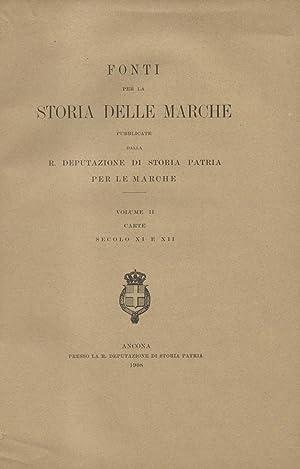 LE CARTE DELLA ABBAZIA DI CHIARAVALLE DI FIASTRA. Pubblicate coll'opera del R. Archivio di ...
