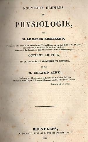 NOUVEAUX ÉLÉMENS DE PHYSIOLOGIE / TRATTATO COMPLETO DI FISIOLOGIA GENERALE E ...