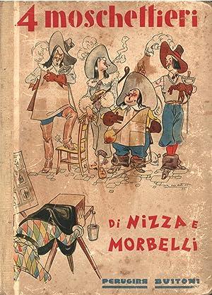 """I QUATTRO MOSCHETTIERI. Illustrazioni di Angelo Bioletto. A cura della """"S.A.Perugina"""" di ..."""