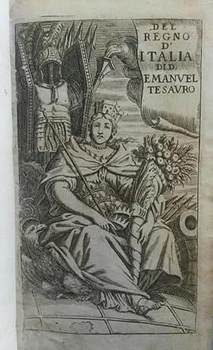 DEL REGNO D'ITALIA SOTTO I BARBARI. Epitome: TESAURO Emanuele.
