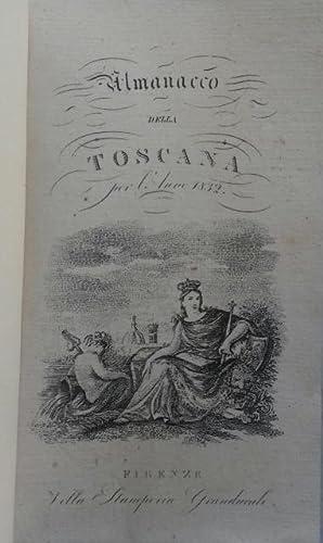 ALMANACCO DELLA TOSCANA PER L'ANNO 1832.