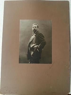 Fotografia originale firmata dal fotografo Mario Nunes Vais. 1890 circa.