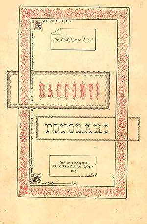 RACCONTI POPOLARI.: NIERI Idelfonso (Ponte a Moriano, 1853-1920).