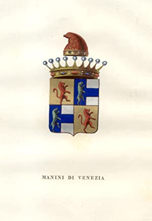 MANIN DI VENEZIA. Fascicolo genealogico tratto da