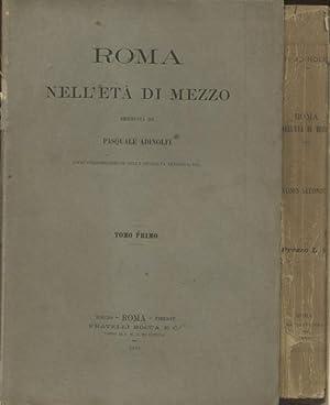 ROMA NELL'ETÀ DI MEZZO.: ADINOLFI Pasquale.