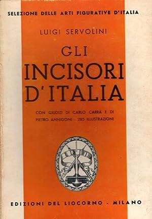 """GLI INCISORI D'ITALIA. Documentario illustrato dell'Associazione """"Incisori d'..."""