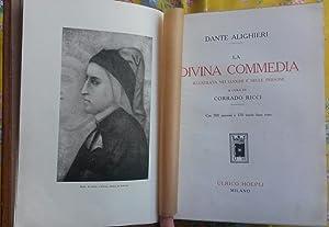 LA DIVINA COMMEDIA. Illustrata nei luoghi e: ALIGHIERI Dante.