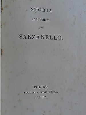STORIA DEL FORTE DI SARZANELLO.: PROMIS Carlo.