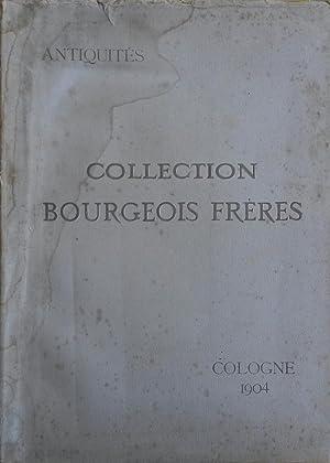 Catalogue des objets d'art et de haute curiosité composant la Collection Bourgeois Fr&...