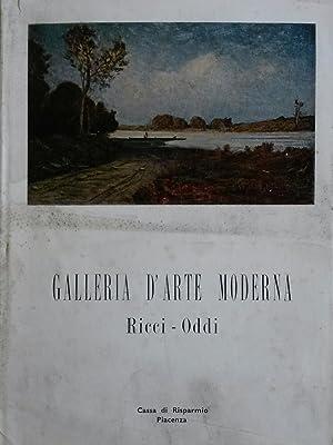 GALLERIA D'ARTE MODERNA RICCI ODDI A PIACENZA. 1960 circa.