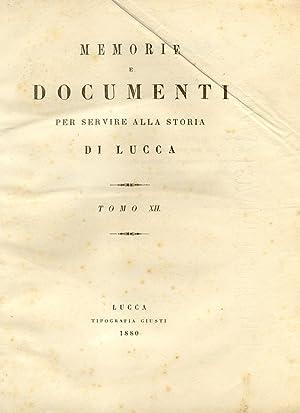 STORIA DELLA MUSICA IN LUCCA.: NERICI Luigi.