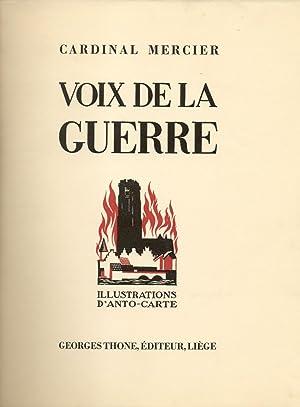 VOIX DE LA GUERRE.: MERCIER (Cardinal).