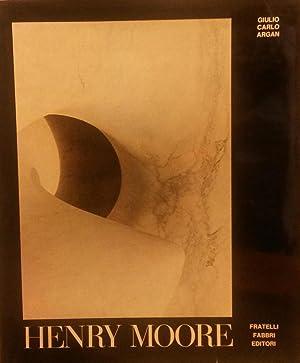 HENRY MOORE.: ARGAN Giulio Carlo.