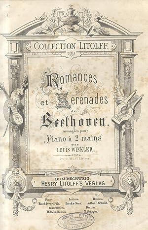 Miscellanea musicale contenente brani di Beethoven, Haendel e Weber.