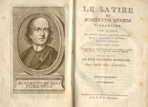 LE SATIRE.: MENZINI Benedetto.