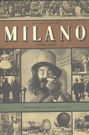 MILANO 1865-1915.: CARRIERI Raffaele (Taranto, 1905-1984).