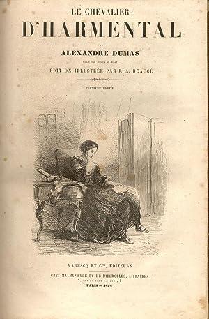 LE CHEVALIER D'HARMENTAL. Publié par Dufour et: DUMAS Alexandre.