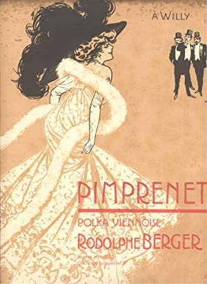 PRIMPRENETTE. Polka viennoise per Piano. copyright 1908 (Pl.n°24029).: BERGER Rodolphe (Wien, ...