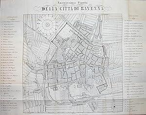 GUIDA DI RAVENNA. Con compendio storico della città.: RIBUFFI Gaspare.