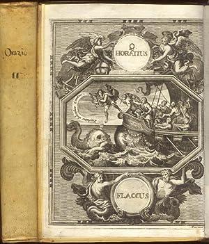 QUINTI HORATII FLACCI OPERA. Interpretatione et notis: ORAZIO FLACCO Quinto.