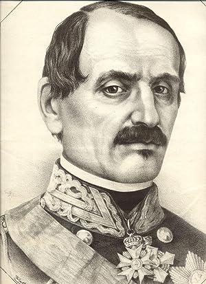 Incisione raffigurante il Conte Luigi Federico Menabrea (1809-1882), Plenipotenziario del Governo ...